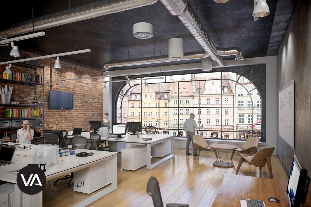 Rynek 48&49 - wnętrze biura