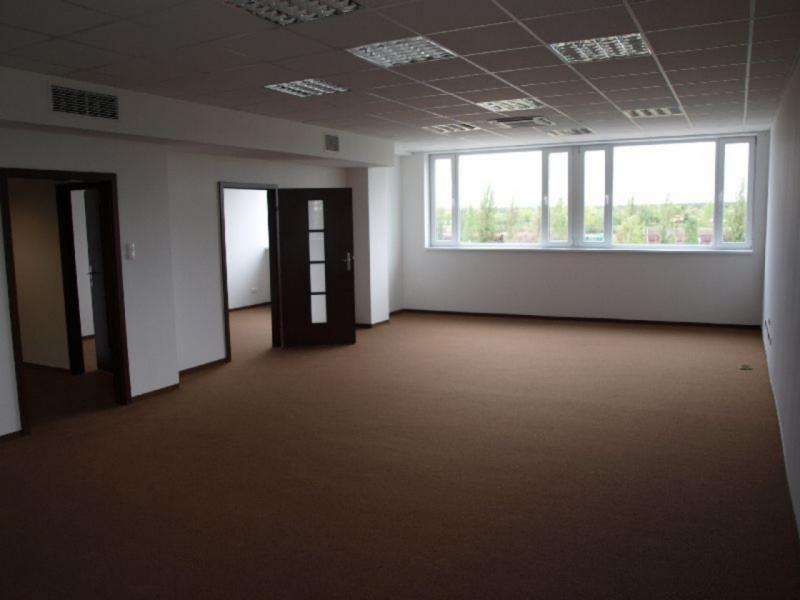 Otwarta przestrzeń przeznaczona na biura