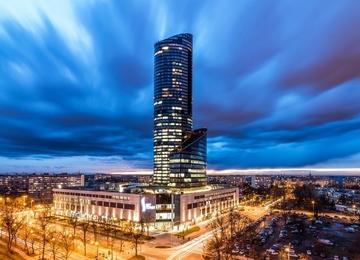 Wrocław: większość powierzchni w Sky Tower zajmie Getin Holding