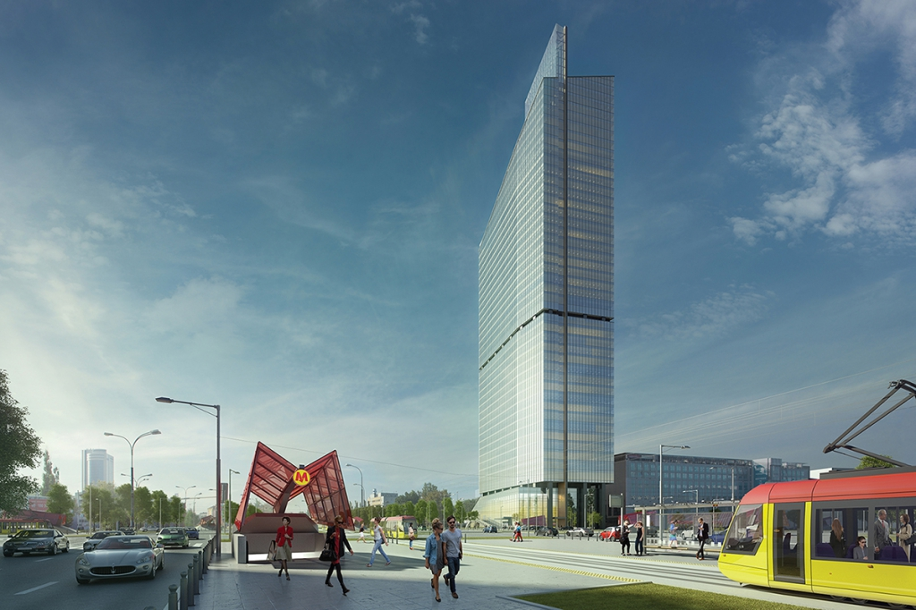 Visualisation of the office building