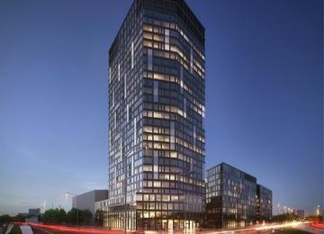 Kompleks Spark z nowym budynkiem