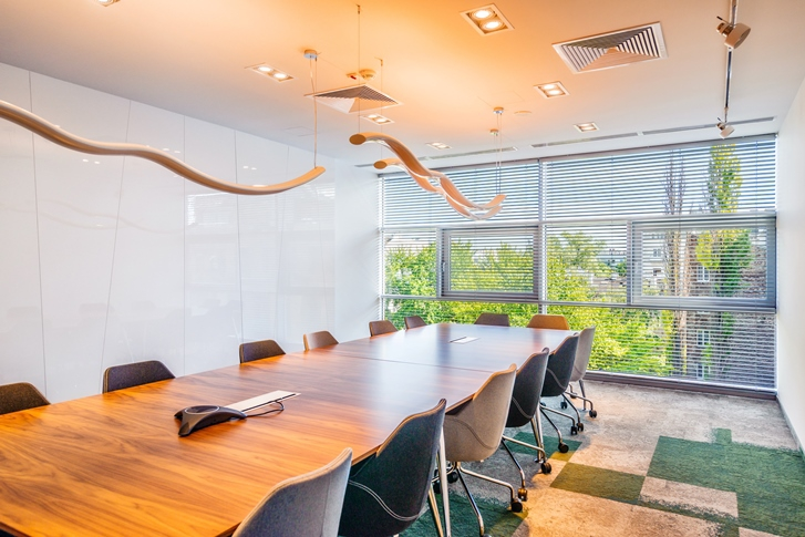 Interiors of the office building - conference room