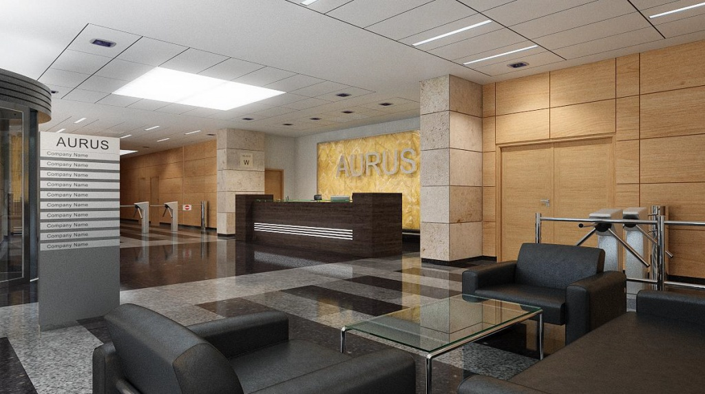 Aurus reception area