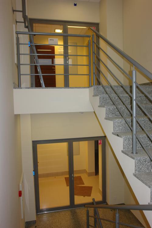 Temida II - staircase