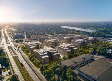 Powstaje kampus biurowy The Park w Krakowie