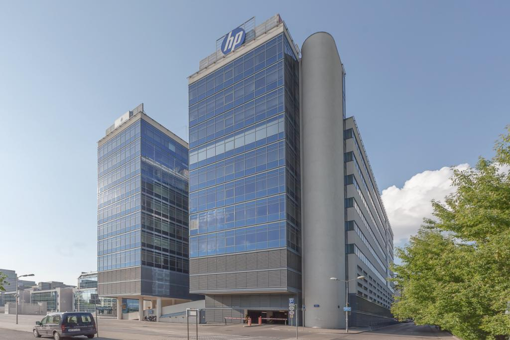 Office building's facade - offices for rent