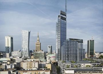Varso Tower najwyższym budynkiem w Unii Europejskiej