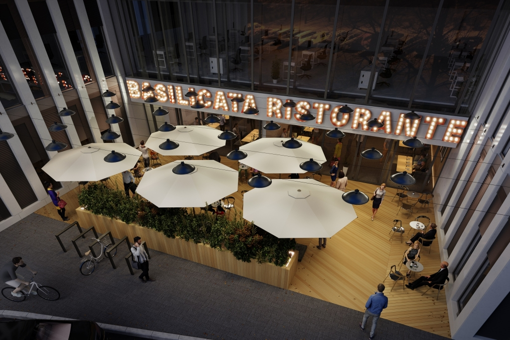Restauracja -  wizualizacja