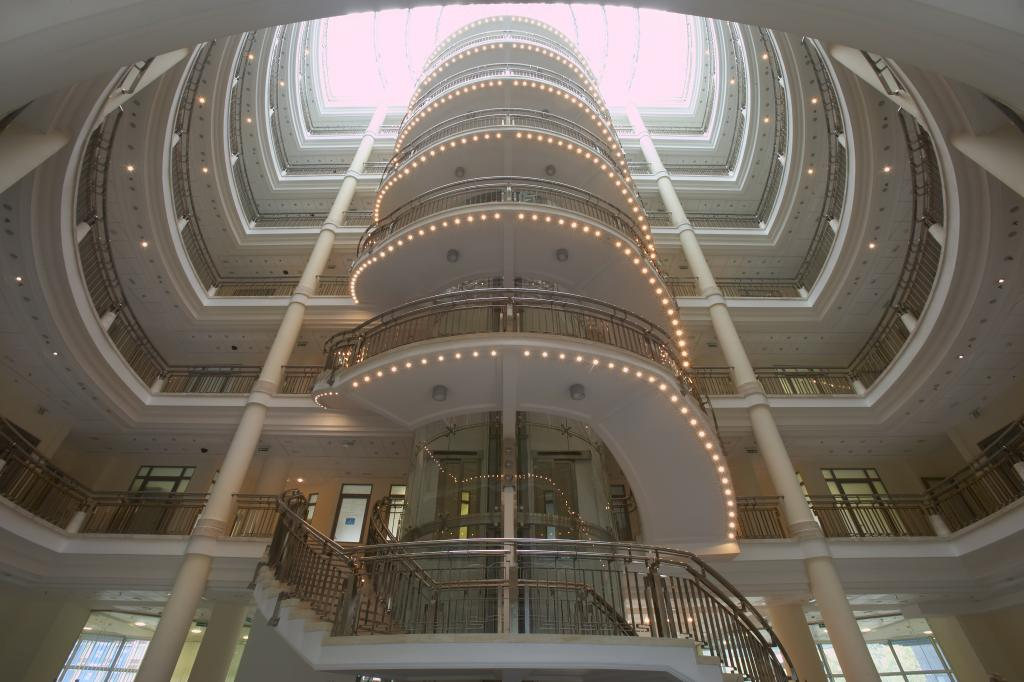Interior of the office building