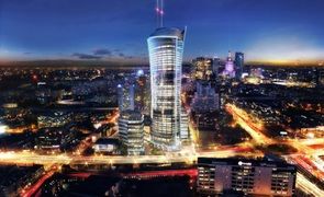 Ghelamco and JLL team up to lease Warsaw Spire