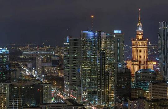 Warsaw exceeds 5 million sq m of office space