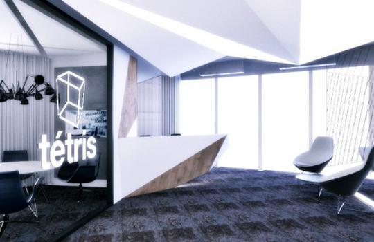Winning concept design for Tétris office has taken shape